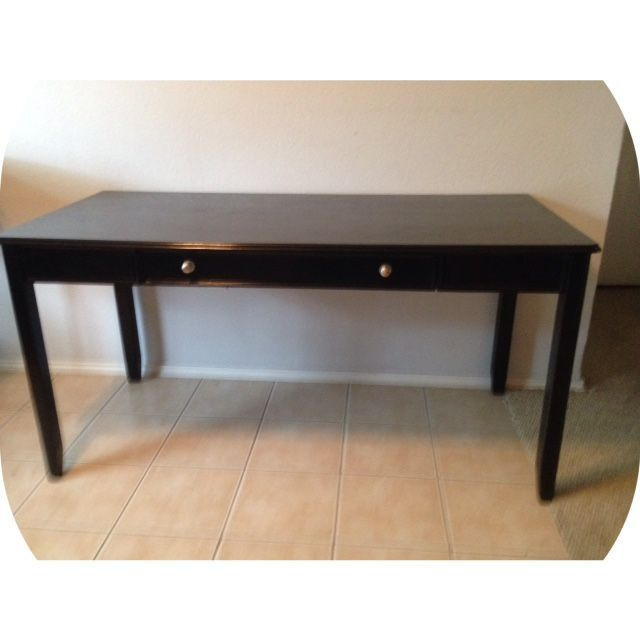 Large Black Writing Desk (refinished) In Anointedu0027s Garage Sale In  Arlington , TX For