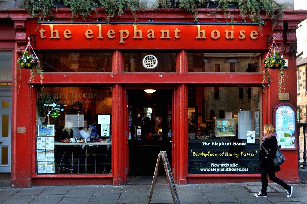 The Elephant House Cafe Edinburgh Scotland Cafe House Places In Scotland
