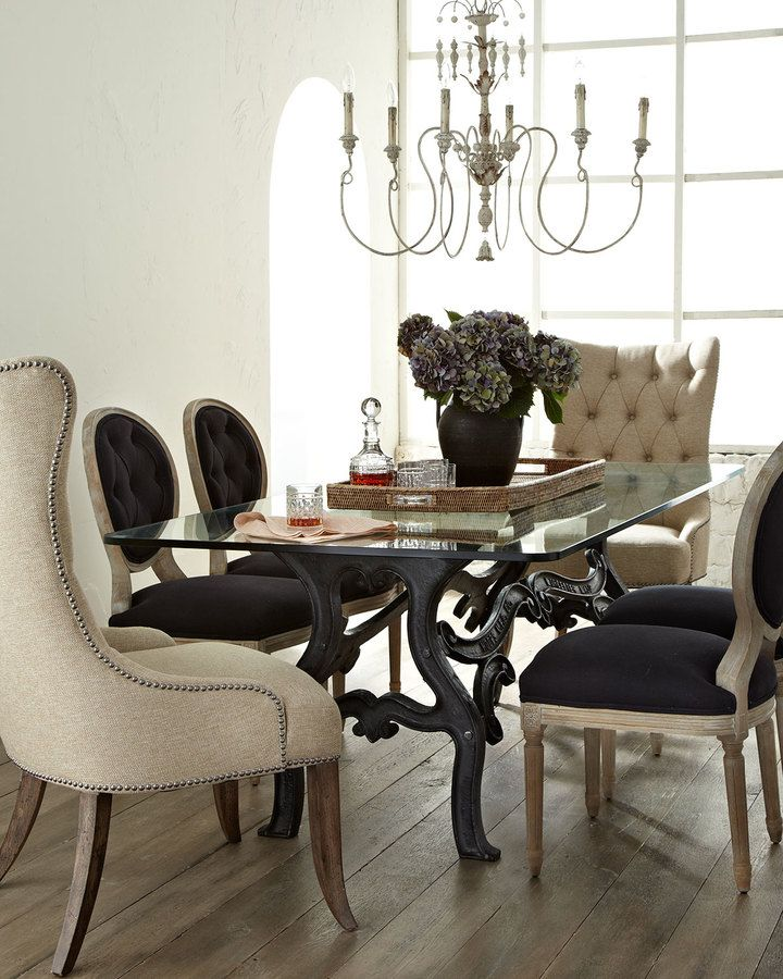 30 Incredible Eclectic Dining Designs: Dining Chairs Mix Well With A Variety Of Dining Styles