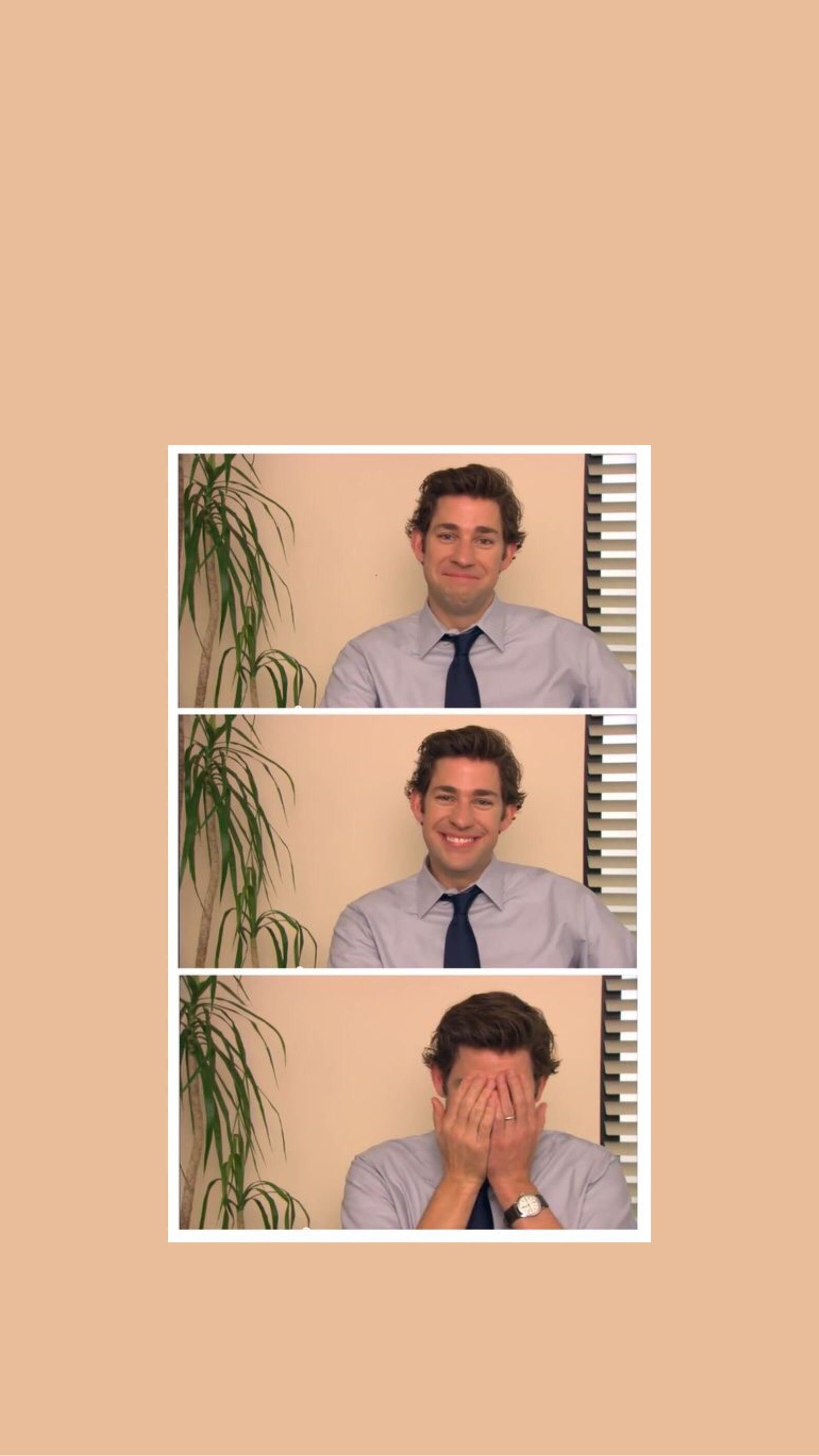 Jim Halpert Wallpaper Office Wallpaper The Office Stickers The Office Jim