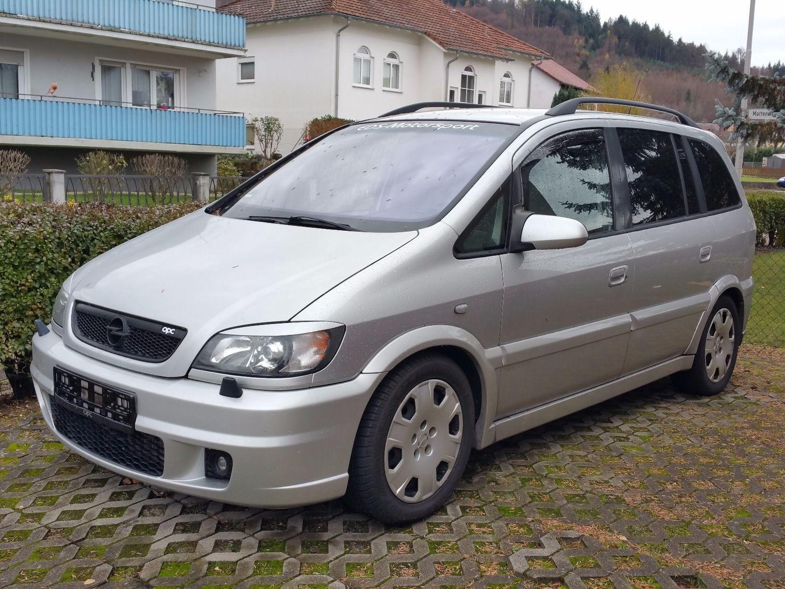 2003 Opel Zafira A Opc