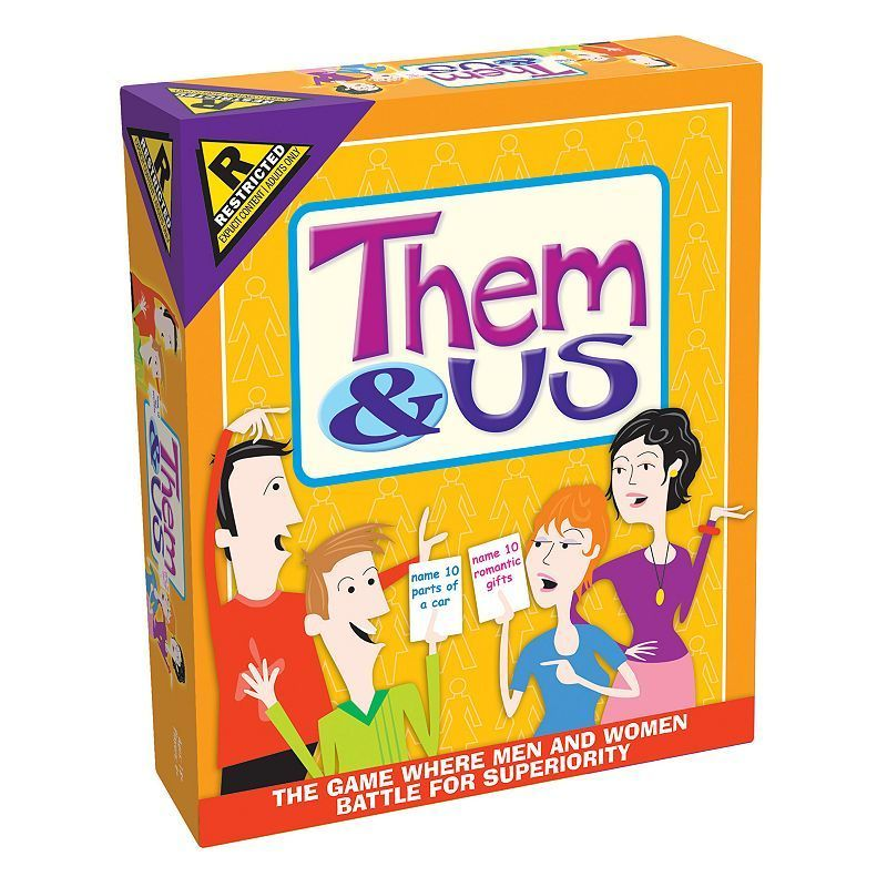 Them Us Couples Party Game By Outset Media Products Couple
