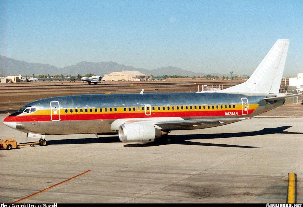 Boeing 737-3A4 - Untitled (Southwest Airlines) | Aviation Photo #0205318…
