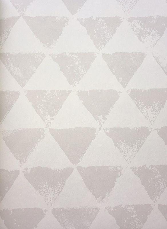 Grijs Behang Babykamer.Onszelf Driehoekjes Behang Grijs Wit Oz 3273 Biggelaar Onszelf