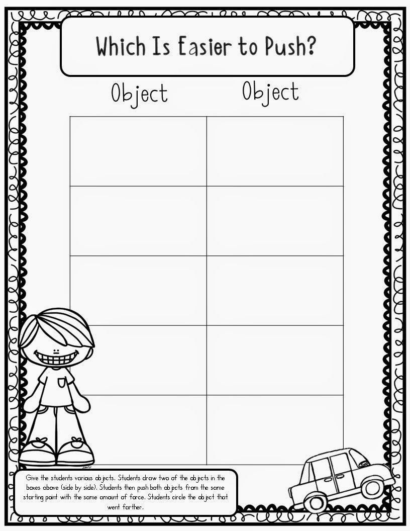 Force And Motion Kindergarten Worksheets Force And Motion Pushes And Pulls In 2020 Kindergarten Science Lesson Plans Kindergarten Science Lessons Force And Motion [ 1056 x 816 Pixel ]