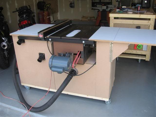 Table Saw Cabinet I M Gonna Need This For All The Diy
