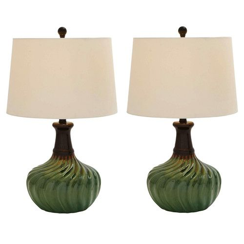 """Found it at Wayfair - Urban Designs 24"""" Table Lamps (Set of 2)"""