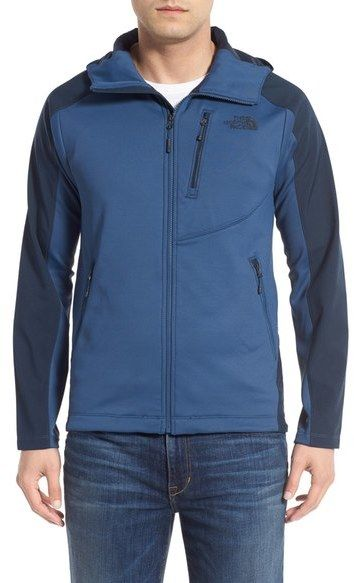 The North Face 'Tenacious' Active Fit Water Repellent Hooded Performance Jacket