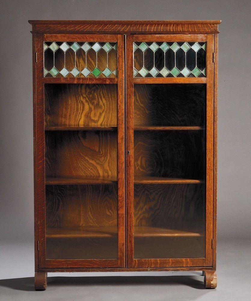 Antique Book Cabinet Glass Doors | http://advice-tips.com ...