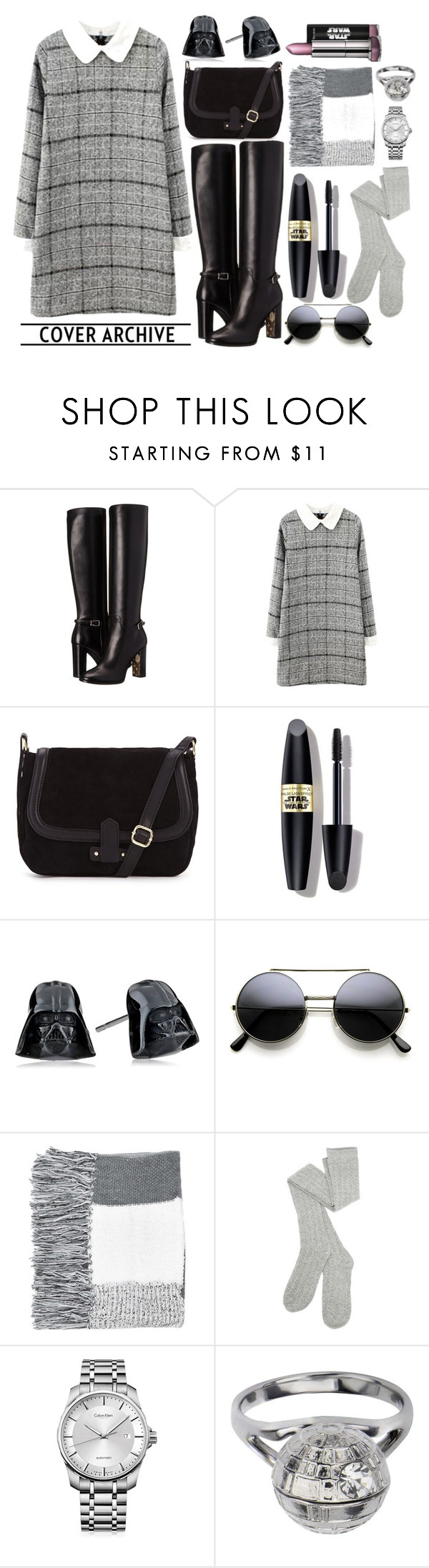 """Untitled #78"" by cqd2015 ❤ liked on Polyvore featuring Burberry, Max Factor, Topshop, Calvin Klein, women's clothing, women, female, woman, misses and juniors"