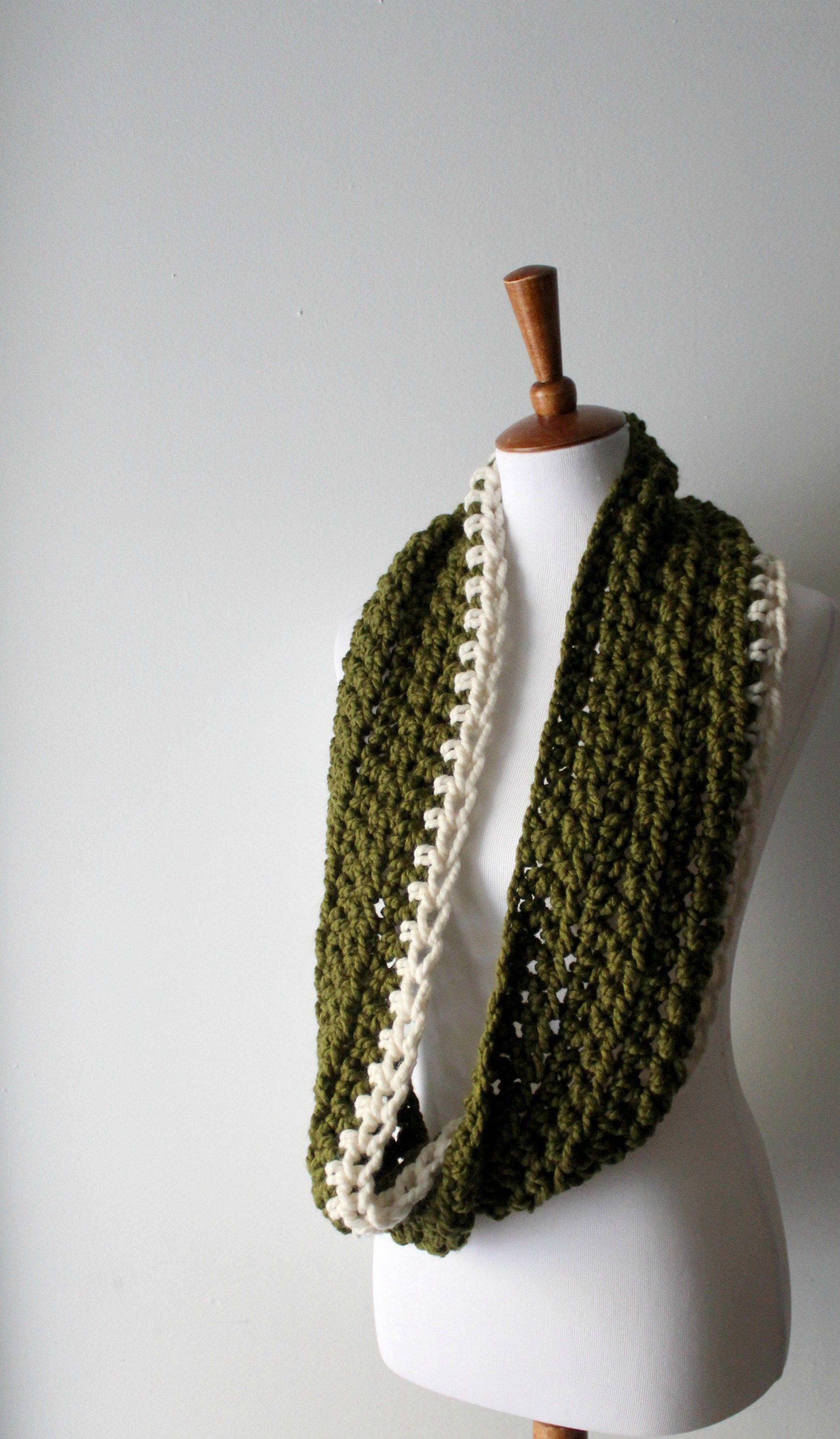 The Easiest Beginner Crochet Scarf for Your Next Project!