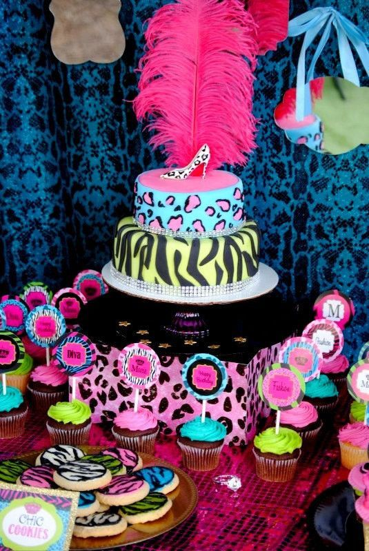 10th Birthday Party Ideas GLAMOUR GIRL