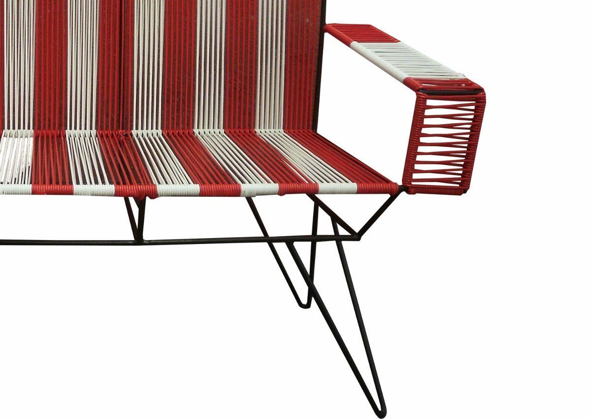 Sillas Acapulco Vinilos Flexibles Sillon Lerma 1 Plaza _  # Muebles Tejidos De Plastico