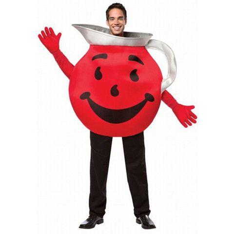 Adult Kool Aid Guy Costume