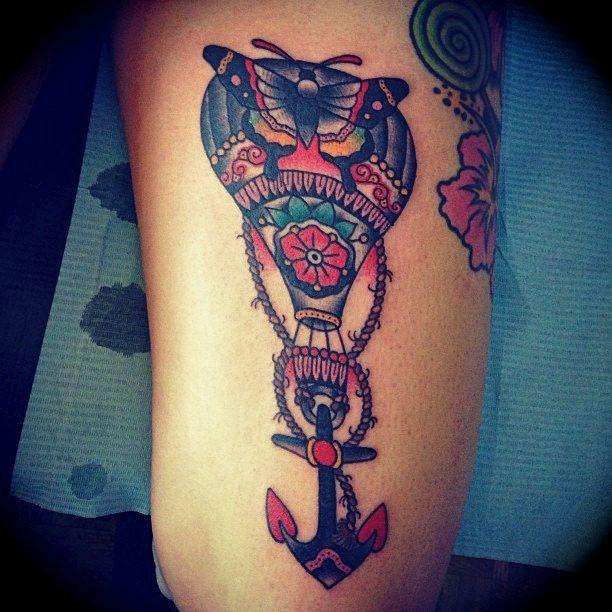 Tattoo old school kim anh nguyen h nh x m pinterest for Tattoo school listings