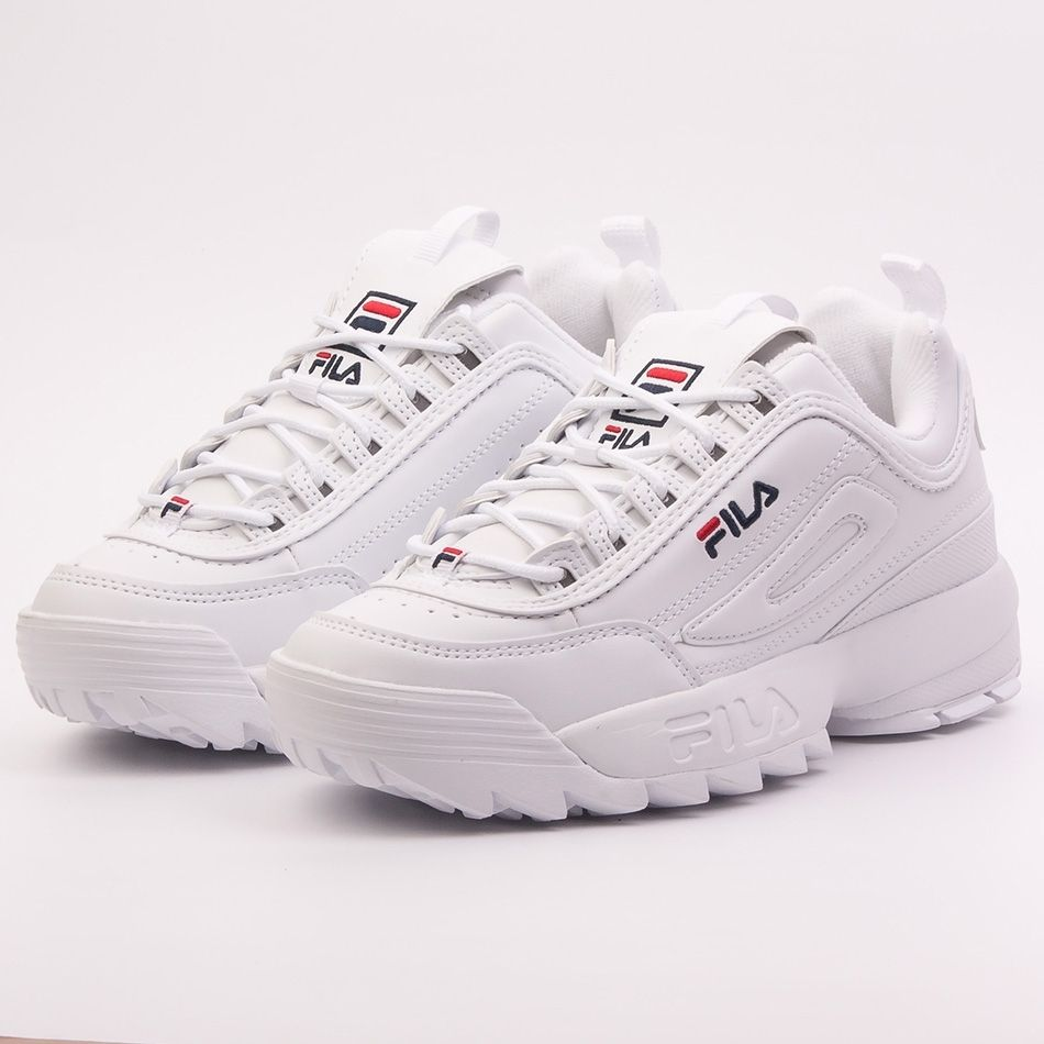 Fila disruptor low wmn white in 2019 | Shoes | 90s shoes, Fila ...