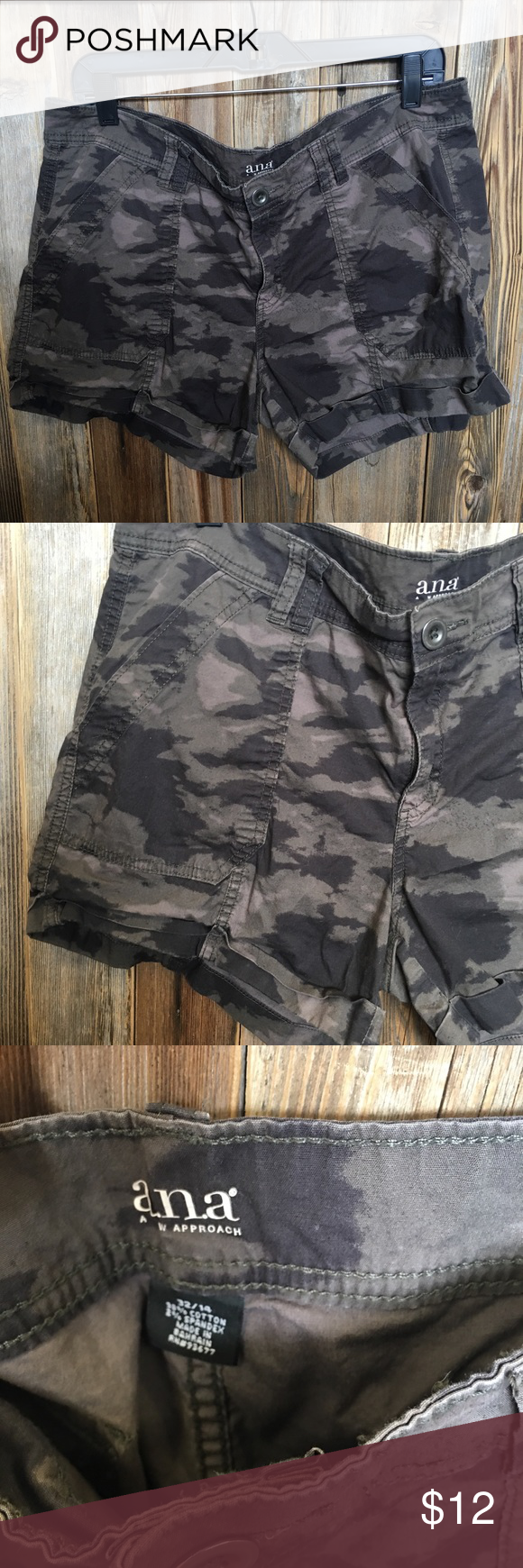 Ana Shorts • ANA SHORTS SIZE 32/14 IN GOOD CONDITION • NO TRADES a.n.a Shorts