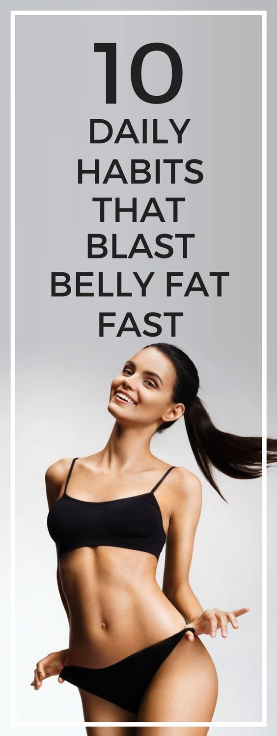 picture 10 Daily Habits That Blast Belly Fat