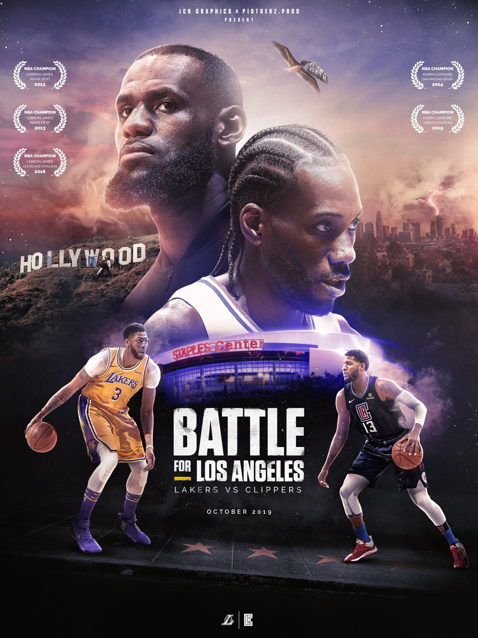Jcr Graphics On Twitter Lakers Vs Clippers Lakers Vs Los Angeles Clippers