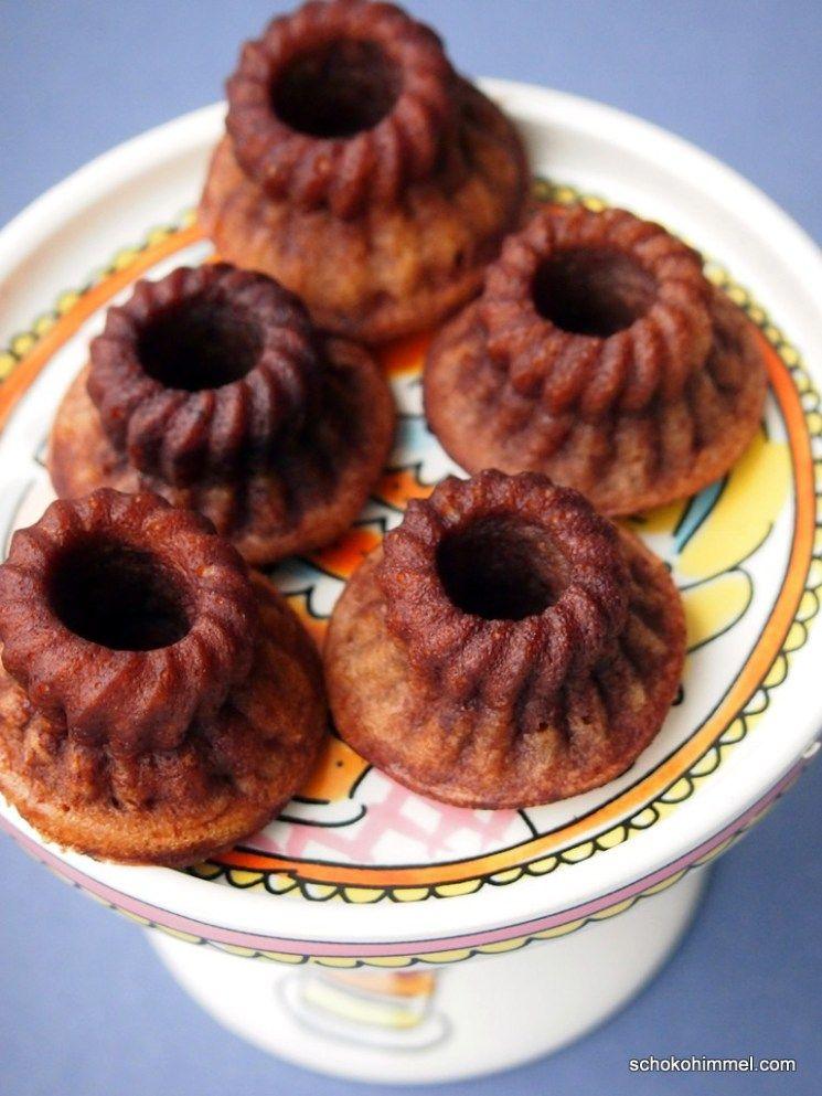 Kakao Mascarpone Mini Gugel Rezept Lebensmittel Essen Osterreich Essen Und Susse Kuchen