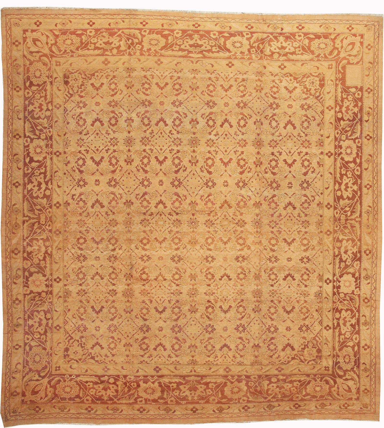 Modern Persian Tabriz Design Rug 44687 Nazmiyal Antique Rugs: Detail Image By Nazmiyal