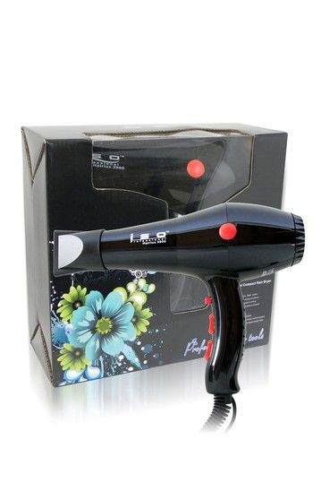 Ionic Pro 2000 Hair Dryer - Black by ISO Beauty on @HauteLook