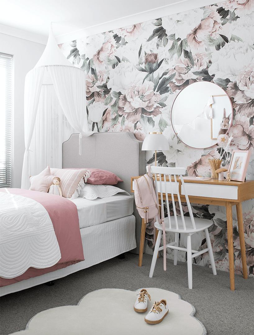 Queen Ann Self Adhesive Wallpaper Project Nursery Girls Room Wallpaper Room Wallpaper Baby Room Decor
