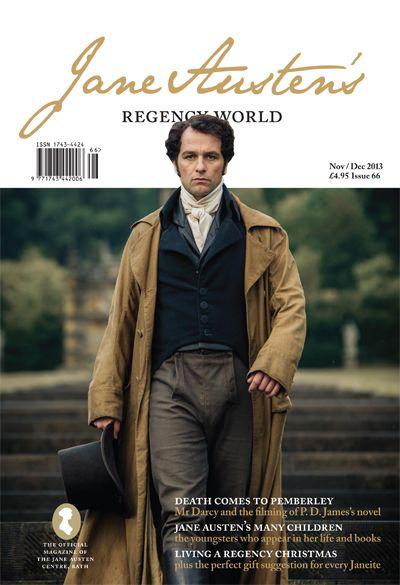 New issue of Jane Austen's Regency World magazine is out now   Jane Austen's Regency World magazine