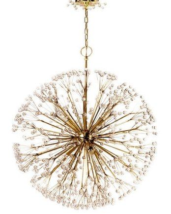 Part Of The Tony Duquette Collection By Remains Lighting Dandelion Chandelier Channels Legendary