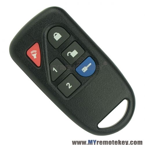 Remote Fob For Ford 200 Series 8l3d 15k601 Aa 433 9mhz 6 Buttons