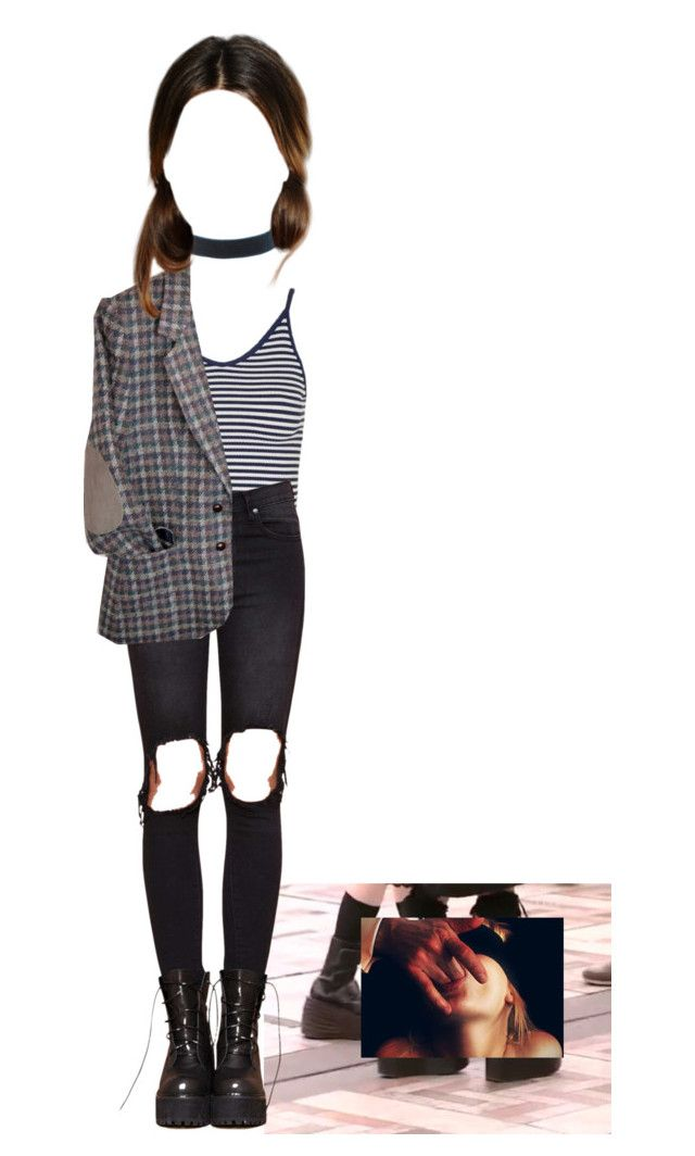 """Untitled #1178"" by adolescentdazecraze ❤ liked on Polyvore featuring Topshop and UNIF"
