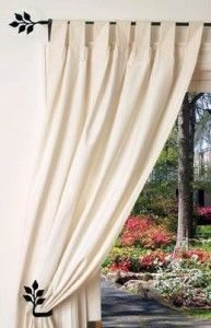 Leaf Curtain Rod Half Inch Diameter Length Between 36 To 60