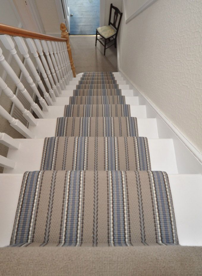 flatweave stripes kelly blue jd 03 moquette hartley