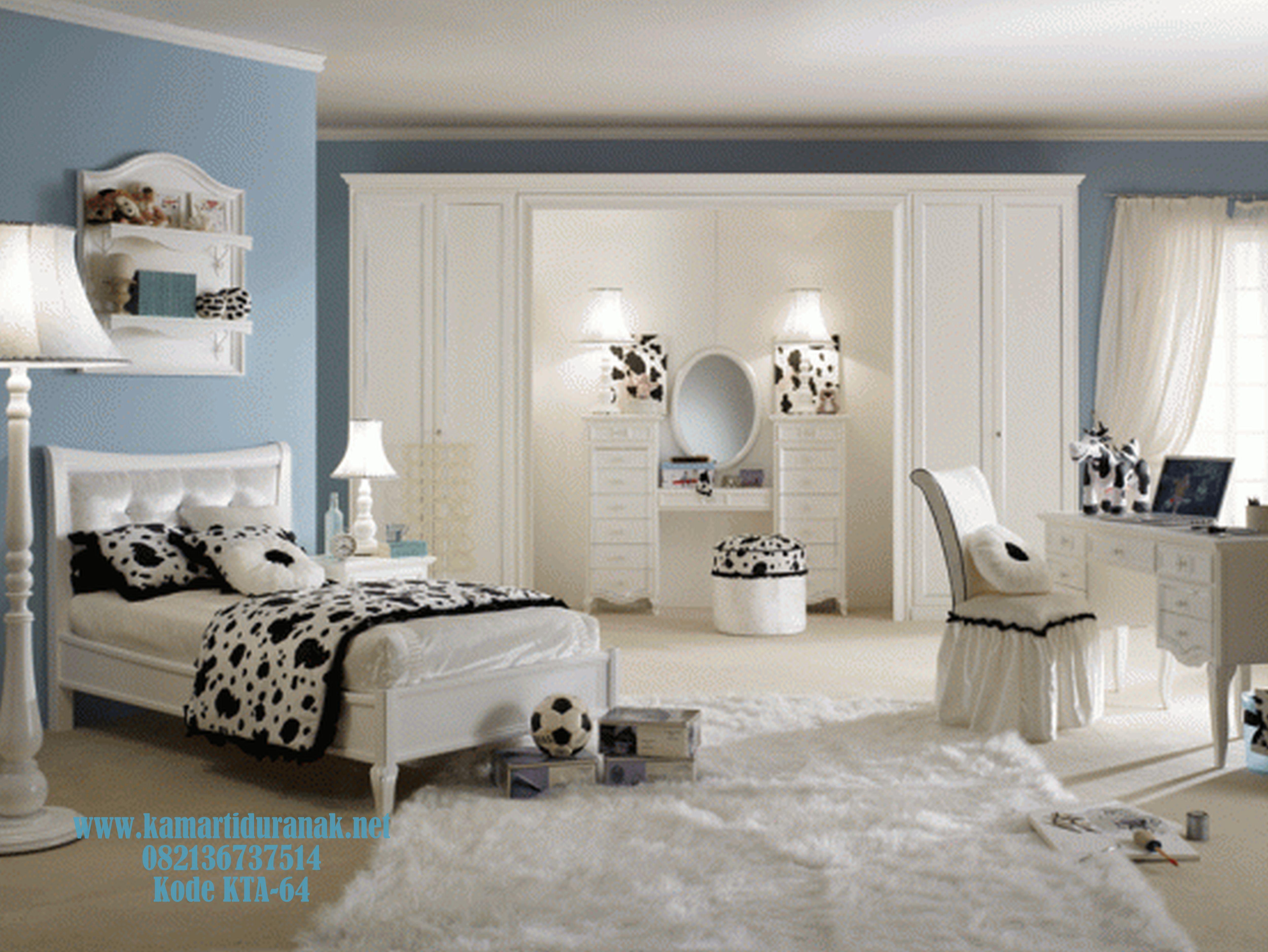 Jual Kamar Set Anak Mewah Putih Duco Lensey Terbaru Desain Kamar Amazing Teenage Girl Bedroom Design Decorating Inspiration