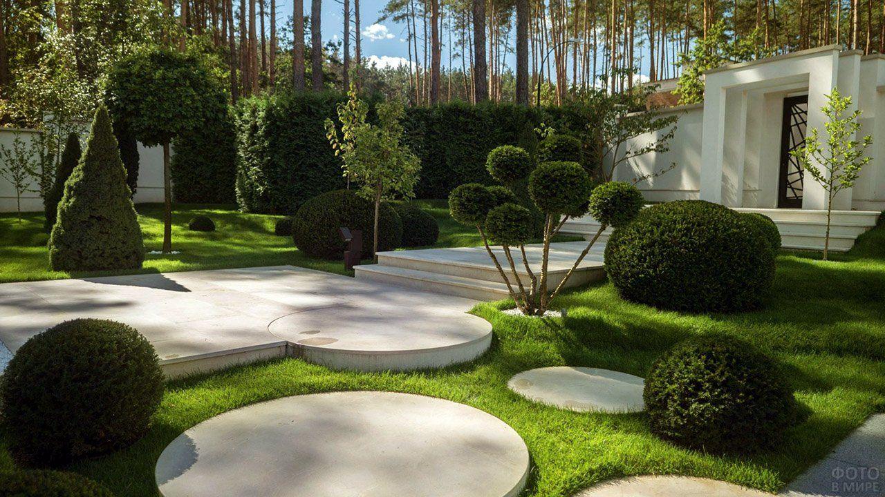 Оформление сада (47 фото) в 2020 г | Красивые сады, Сад ...