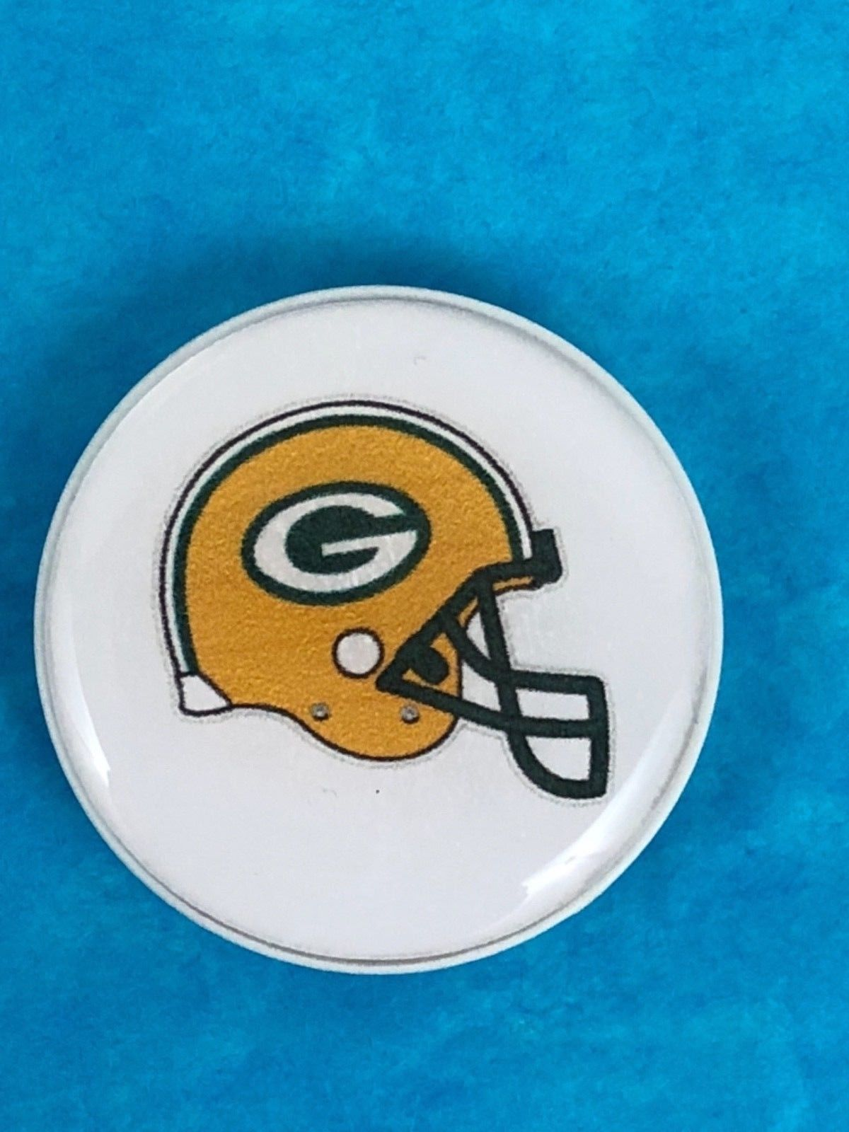 Green Bay Packers Helmet White Cell Phone Handle Stand