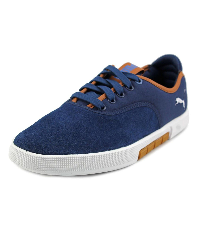 Puma Roma LP Men US 11 5 Black Sneakers
