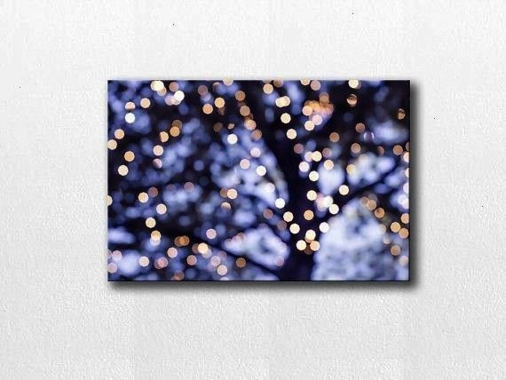 print abstract canvas 12x18 24x36 fine art photography lights canvas wrap large scale purple canvas print lilac art bokeh photography canvas print abstract canvas by myli...