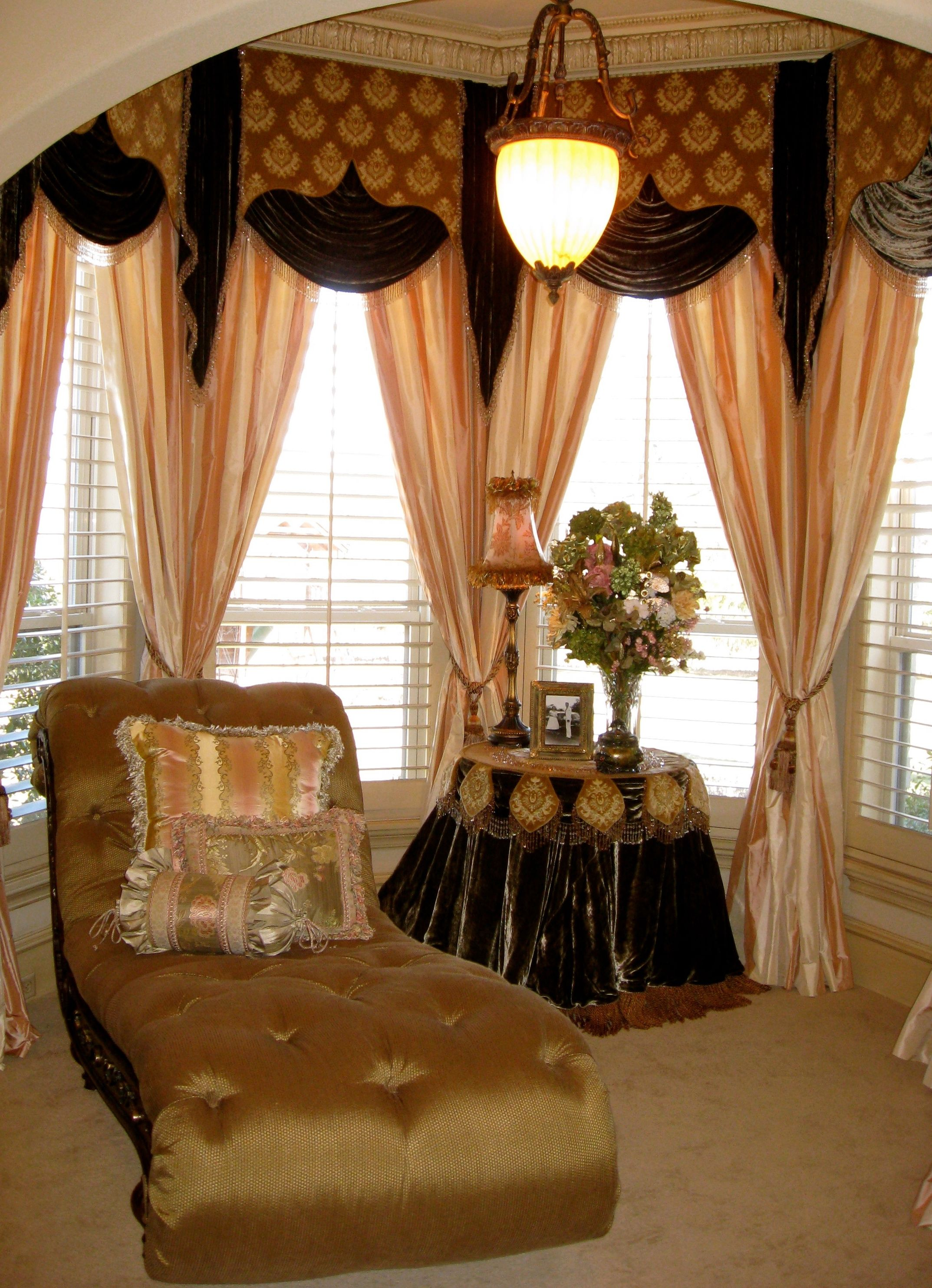 Grandeur Design: Custom drapery featuring fabric produced and ...