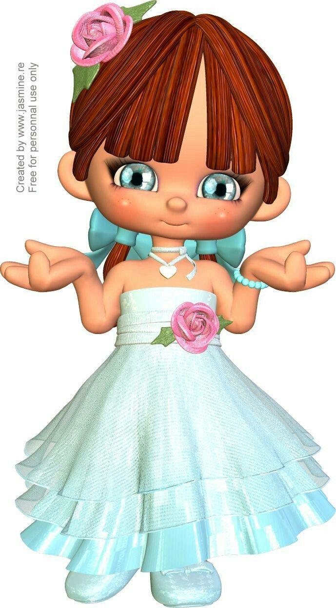Феечки и девочки... от Lilia | Дети, Барби, Картинки