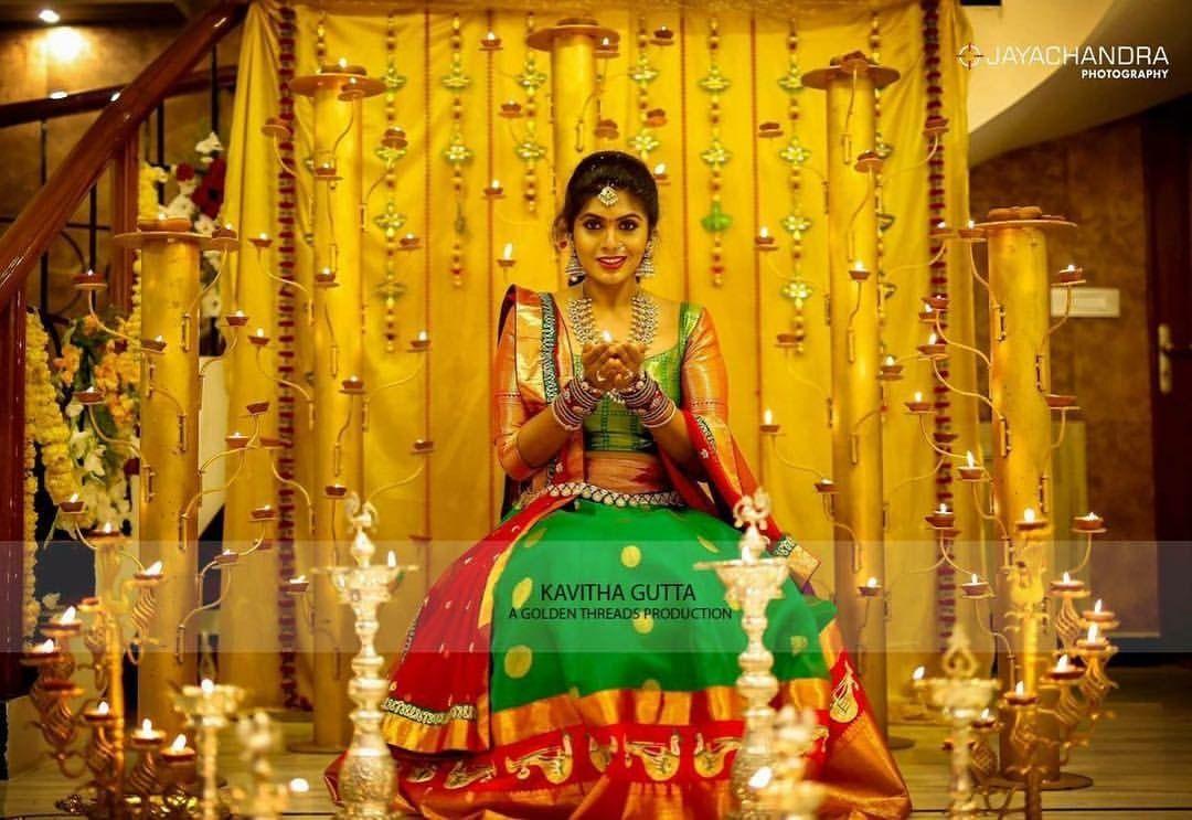 Baby Shower Ideas Baby Shower Ideas Telugu Wedding Pattu Sarees