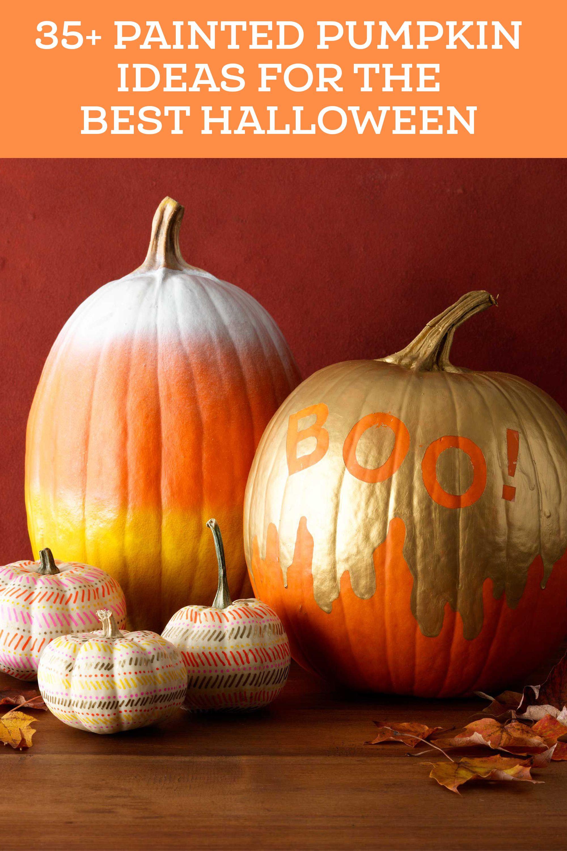 47 Fun Easy Ways To Paint Your Pumpkins This Halloween Pumpkin
