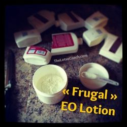 DIY Essential Lotion