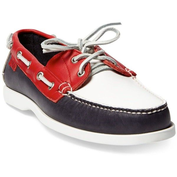 Polo Ralph Lauren Men\u0027s Team Usa Ceremony Boat Shoes (38815 RSD) ? liked on