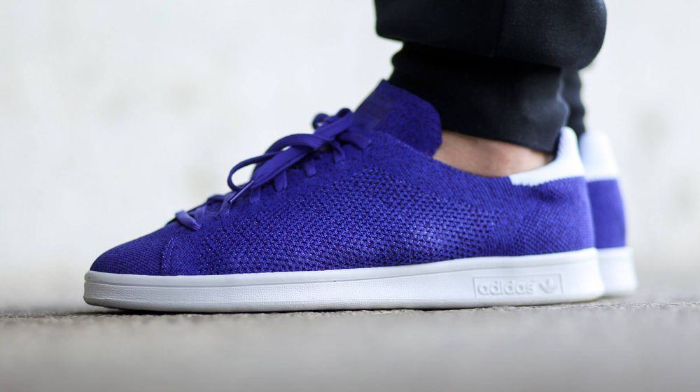 328494cca489 adidas Primeknit Stan Smith Blue