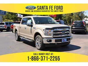 2017 White Gold Ford F 150 Lariat 373311 Ford F150 Ford Oxford