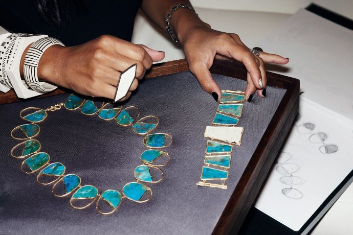 In love with HaitianAmerican jewelry designer Monique Pean