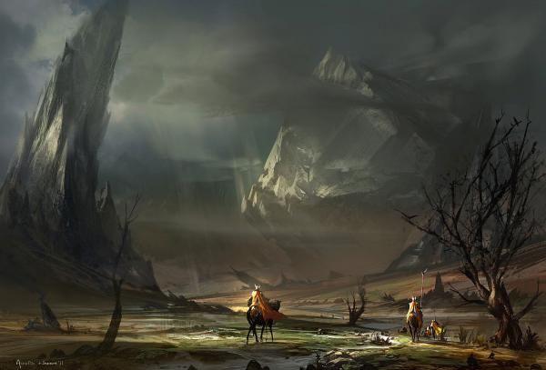 Knights Fantasy Art Knight Medieval Wallpaper Fantasy Landscape Environment Concept Art Animation Art