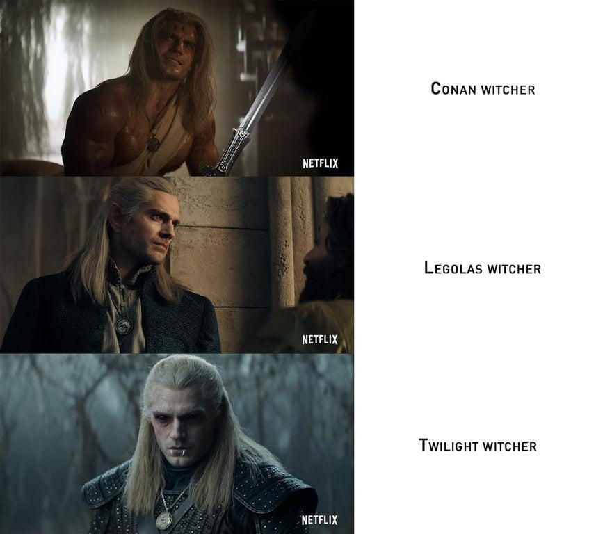 Conan Witcher Vs Legolas Witcher Vs Twilight Witcher In 2020