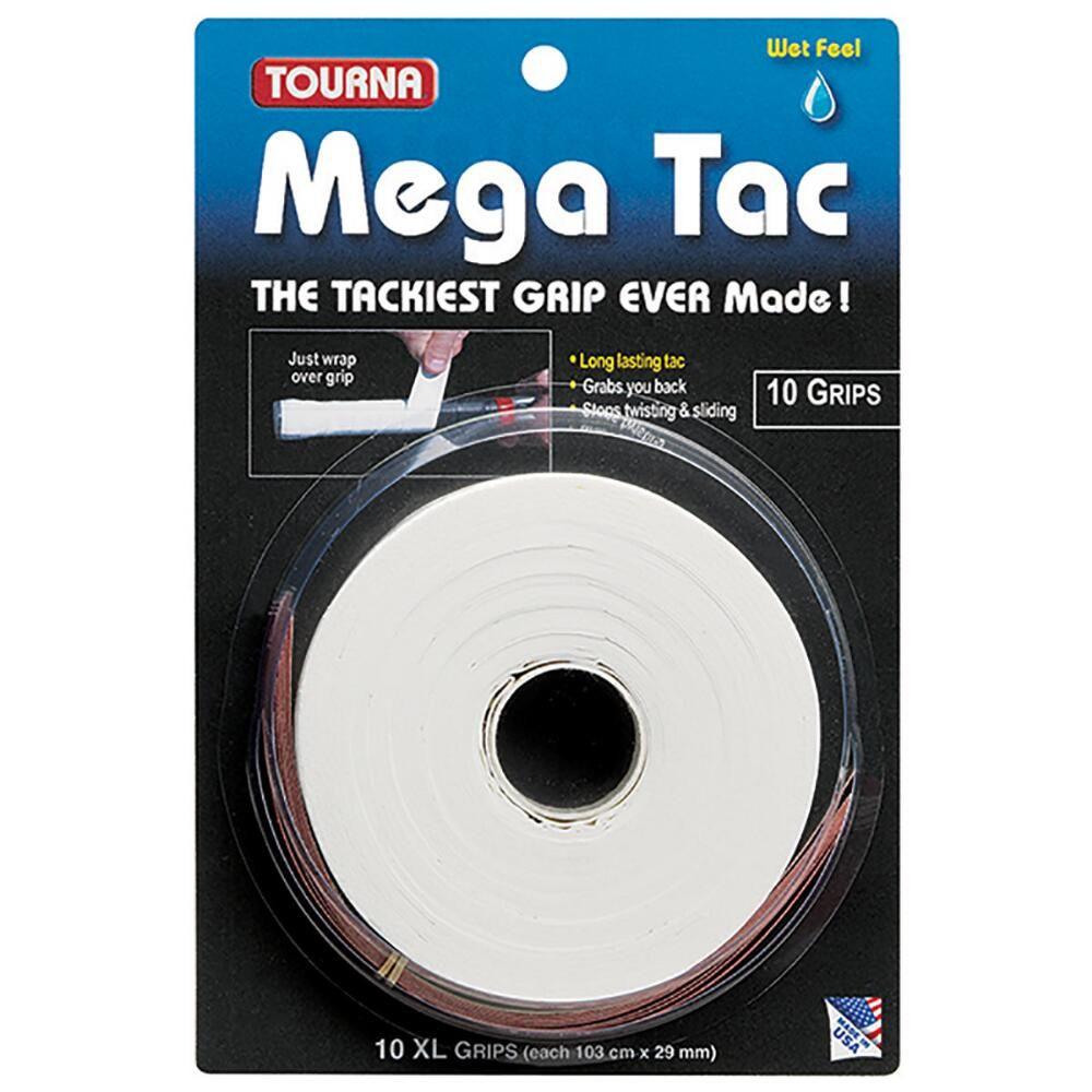 Tourna Mega Tac Tennis Grip Tape 10Pack tennis tape